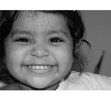 Give me a BIG smile..... Photographic Print