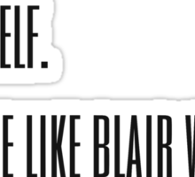 Blair Waldorf Sticker