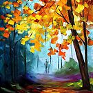 Window To The Fall — Buy Now Link - www.etsy.com/listing/226243887 by Leonid  Afremov