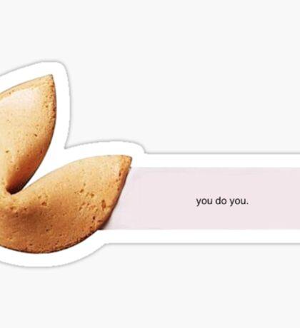 Fortune Cookie Sticker