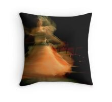 When She Moves.2 Throw Pillow