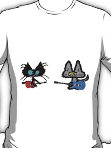 Rock And Roll Cats T-Shirt