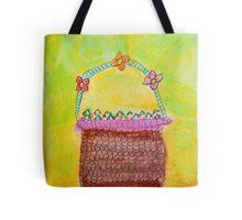Basket of cherries Tote Bag