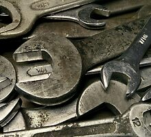 old wrenches by sumners