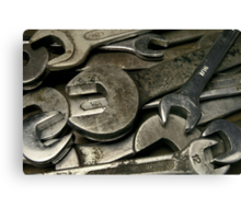 old wrenches Canvas Print