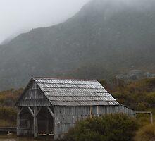 Dove Lake Boat House by Kotchka Images