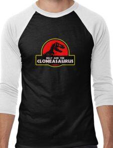 Billy and the Cloneasaurus Men's Baseball ¾ T-Shirt