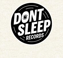 Don't Sleep Records Logo T Pullover