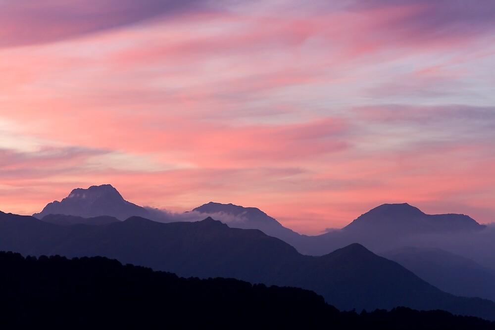 mountain landscape by vkph
