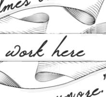 Mr. Holmes - Team Vane  Sticker