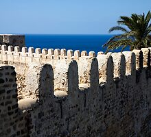 old fortres in Kelibia on cap Bon, Tunis. by vkph