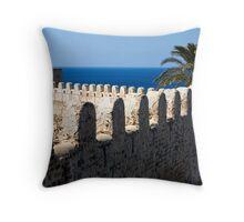 old fortres in Kelibia on cap Bon, Tunis. Throw Pillow