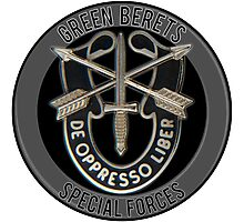 Special Forces Photographic Print