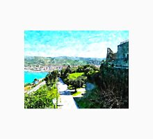 Agropoli: sea cost and castle Unisex T-Shirt