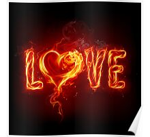 FIRE LOVE PRODUCTS Poster