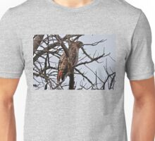 Mister Red-Tailed Hawk Unisex T-Shirt
