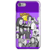 dazed and confused character collage art iPhone Case/Skin