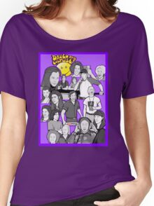 dazed and confused character collage art Women's Relaxed Fit T-Shirt