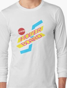 Back to the Future Hover Board Logo Long Sleeve T-Shirt