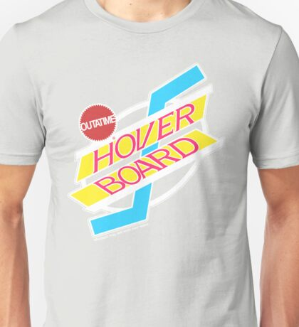 Back to the Future Hover Board Logo Unisex T-Shirt