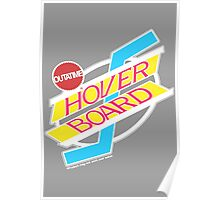 Back to the Future Hover Board Logo Poster