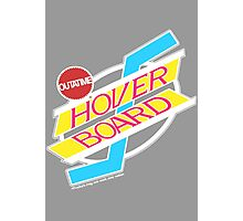 Back to the Future Hover Board Logo Photographic Print