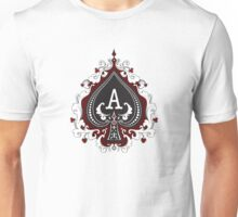 ace of spades ACEeffect logo brand Unisex T-Shirt