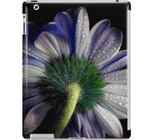 Rainy blue gerbera shining iPad Case/Skin