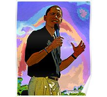 Obama's strong actions Poster