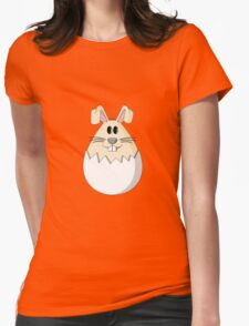 Easter Bunny Egg Womens Fitted T-Shirt