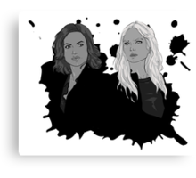 Regina and Emma Canvas Print