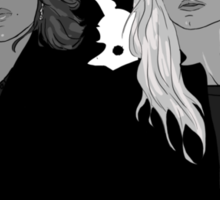 Regina and Emma Sticker