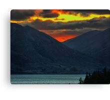 The Distant Fires of Mordor Canvas Print