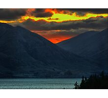 The Distant Fires of Mordor Photographic Print