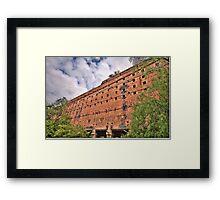 Man O War - Glen Davis Shale Mining Ruins - The HDR Experience    Framed Print