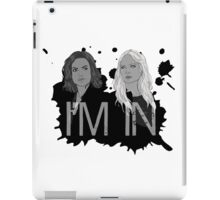 Regina and Emma - I'm In iPad Case/Skin