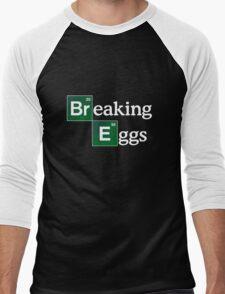 Breaking Eggs Men's Baseball ¾ T-Shirt