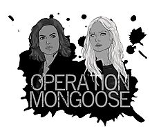 Regina and Emma - Operation Mongoose Photographic Print