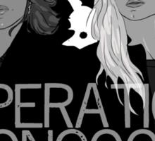Regina and Emma - Operation Mongoose Sticker