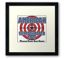 AMERICAN Sharpshooter Framed Print