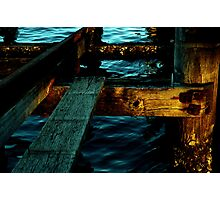 ~Peer at a Pier~ Photographic Print