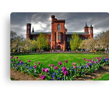The Smithsonian Castle Canvas Print