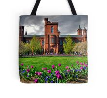 The Smithsonian Castle Tote Bag