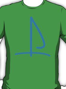 Sail boat logo T-Shirt