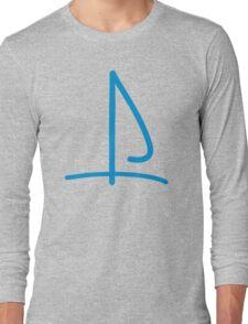 Sail boat logo Long Sleeve T-Shirt