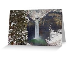 Overlooking Taughannock Greeting Card