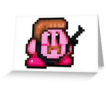 Pixel Abraham Kirby - The Walking Dead Greeting Card