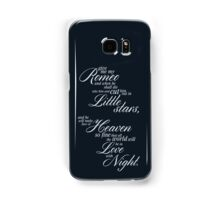 In Love with Night Samsung Galaxy Case/Skin