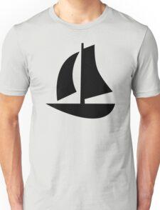 Sail boat icon Unisex T-Shirt