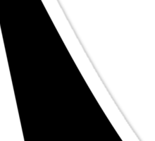Black sailing boat Sticker